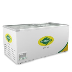 Glass Top Freezer