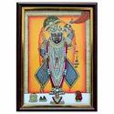 Double Frame Shri Nath Ji Painting
