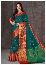 Designer Pure Silk Cotton Saree
