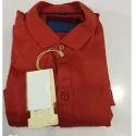Red Mens Trendy Shirt