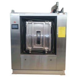 Stainless Steel Cotton Barrier Washer Extractor, For Hospital Disinfection, Capacity: 45 Kg
