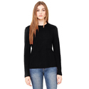 Women Black Color Round Neck Casual Long Sleeve shirt