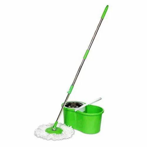 Super Spin Bucket Mop (Steel Jali/ Spinner)