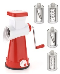 Rotary Grater 4 in 1
