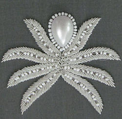 Bead Pattern Embroidery Work