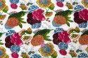 Multi Color Fruits Print Trendy Cotton Fabric, Gsm: 50-100