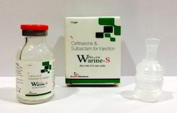 Ceftriaxone 500 mg  Sulbactam 250 mg Injection