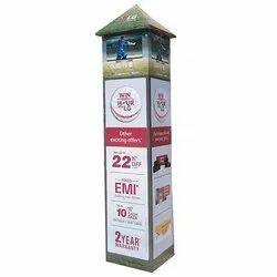 Pillar Type Promotional Sign Board