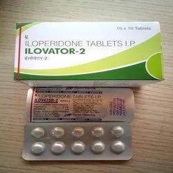 Iloperidone 1/2/3/4/6/8 Mg ( Ilovayor)