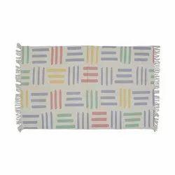 Cotton Screen Printed Rug