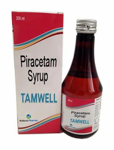 Piracetam Syrup Pharma Syrup औषध स रप