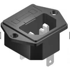 SE049 Computer Socket with Fuse