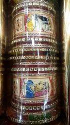 Wedding Golden Raja Rani Painting Bangles