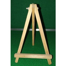 Foldable Tripod Green Table Display Easel 19 x 41 cm Wooden