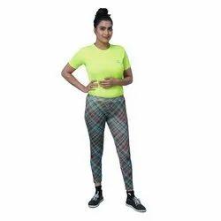 Airsnipe Printed Ladies Polyester Leggings, Size: S-XXL