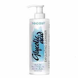 Recast Glycolic Acid Exfoliating Face Wash, Liquid, Packaging Size: 200 Ml