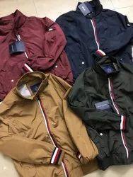 Woolen Collar Neck Mens Jackets, Size: XL