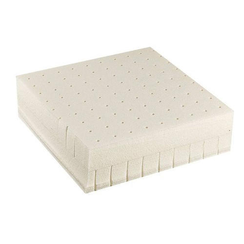 Bed with latex mattress