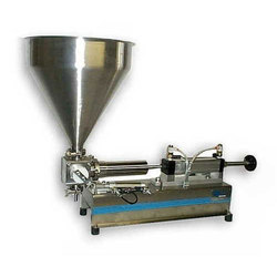 Piston Type Tube Filling Machine