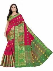 Monika Cotton Silk Saree
