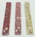 Pashan Kala Polish Soapstone Incense Holders