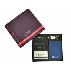Gift Set - Pen - Key Chain - Diary - Power Bank - Card Holder