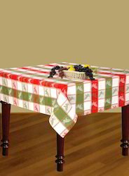 Christmas Jacquard Table Cloth