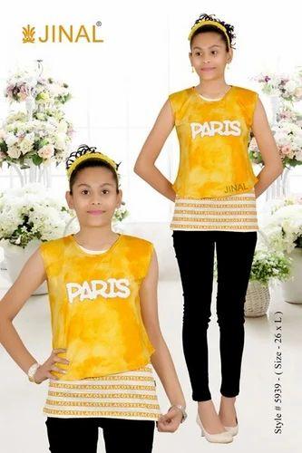 4c36bd232362c Medium And XL Cotton Girls Fancy Top