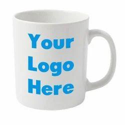 White Acrylic Promotional Mug