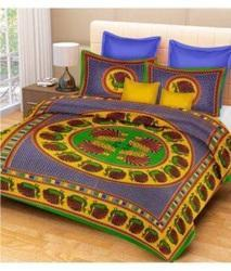 Sanganeri Cotton Bed Sheet