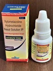 Xylometazoline Nasal Drops, Packaging Type: Bottle 10 ML, Carton Pack
