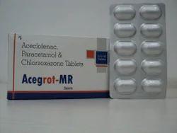 Aceclofenac Paracetamol 325 mg & Chlorzoxazone Tablet