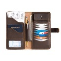 Leather Travel Wallet For Ladies