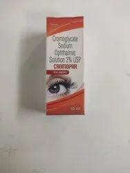 Cromoglycate Sodium2% Usp Eye Drops