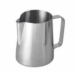 Silver Plain SS Milk Steaming Pitchers, Capacity: 2 L