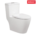 Vitreous China Floor Mounted Somany Chanel - One Piece Toilet