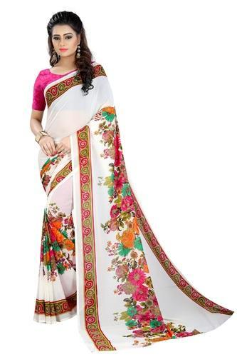 All Color Casual Wear Mastani Latest Designer Printed Georgette Saree 6dd0176b97