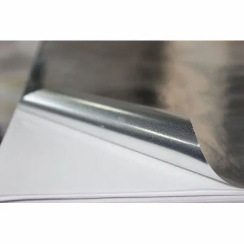 Fasson Silver Gumming Sheets, Pack Size: 200 Sheets, Packaging Type: Bundle