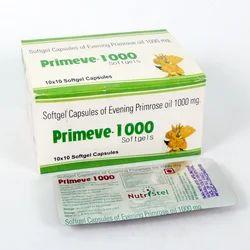 Primeve-1000 Evening Prime Rose Oil Softgel Capsule