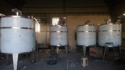 Sugar Syrup Preparation Tank