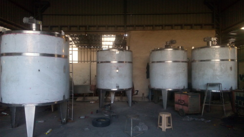 sap techno sugar syrup preparation tank rs 150000 pair