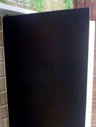 Black Plywood Door