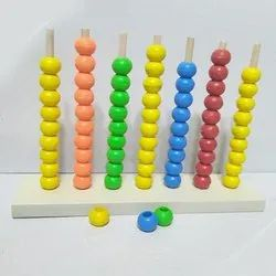 Wooden Spike Abacus Toy
