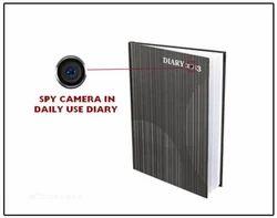 Spy Camera In Daily Use Diary