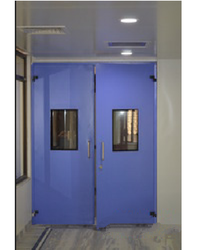 Hermetically Sealed Swing Door