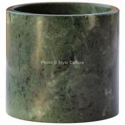 Elegant Green Marble 3.5 Inchs Vase