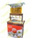 Gold 3 Nozzle Stand Top Pani Puri Machine With Serving & Storage