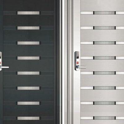 Off White Glass Sliding Security Doors Rs 15000 Piece Sri Sai