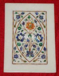 Marble Stone Pietra Dura Plate