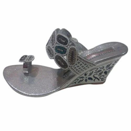 a1e8048093d4 ... Footwear   Ladies Sandal   Heel Sandal. Gomti Party Wear Heel Chappal